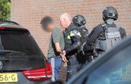 Arrestatieteam Zoetermeer houd Twee verdachten aan na schietincident Zoetermeer.